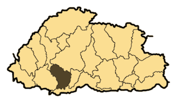 Bhutan Dagana District or Dzongkhag