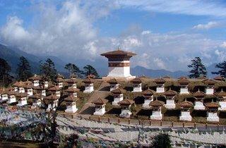 108 Stupas at Dochula Pass