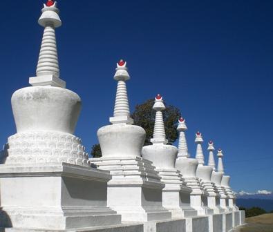 Tibeta Style Stupa