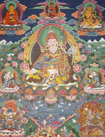 Guru Rimpoche is the Founder of Taktsang
