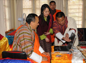 Dzongkha development commission (DDC) launched a new website