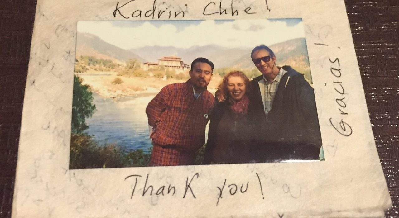 Thank You, Bhutan Majestic Travel for Trip of Our Life Time