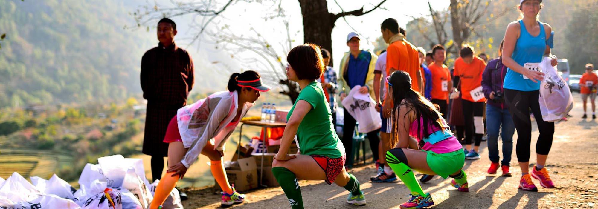 Bhutan International Half Marathon