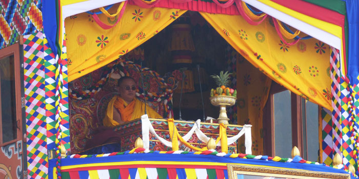 Moenlam Chhenmo at Wangdue Phodrang to commemorate His Majesty The King's Birth Anniversary