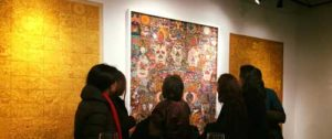 Bhutanese contemporary visual artists are exhibiting their artworks in an exhibition titled in the United States