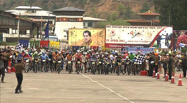 Bhutan Open Mountain Bike Race