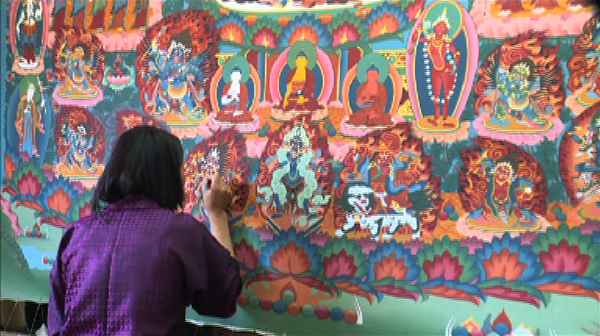 The Traditional Bhutanese Art of Painting